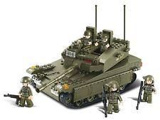 Sluban Building Blocks Merkava Tank (Army/Military Bulding Blocks)