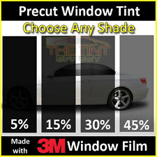Fits 2000-2007 Ford Focus (Visor Only) Precut Window Tint - 3M Window Film