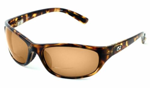 Ono/'s Oak Harbor Polarized Bi-focal Reading Sunglasses in Tortoise Havana Brown