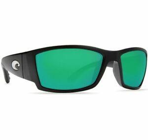 Costa Sunglasses Fisch Black Green Mirror 400G FS 11 GMGLP