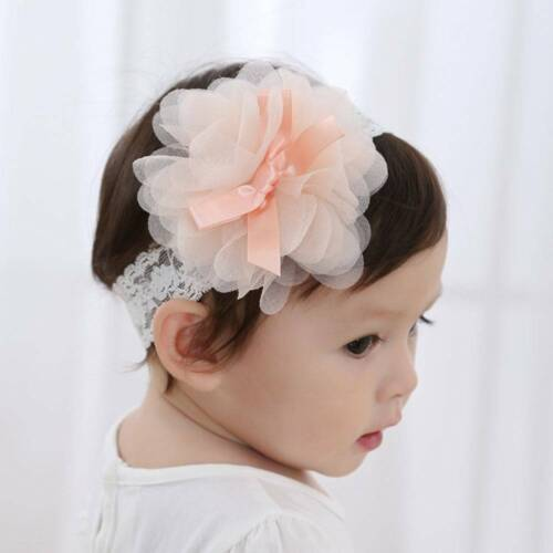 1pc Baby/&Girls Toddler Lace Flower Hair Band Headwear Kids Headband Accessorie