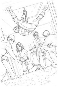 Spider-Man-Homecoming-Original-Spider-Man-Pencil-Art-by-Steve-Kurth-PUBLISHED