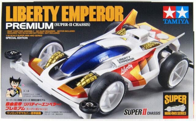 Tamiya Mini 4WD 95427 Liberty Emperor Premium Super-II Chassis 1/32