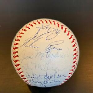 Rare-1970-New-York-Mets-Team-Signed-Baseball-Nolan-Ryan-amp-Tom-Seaver-JSA-COA