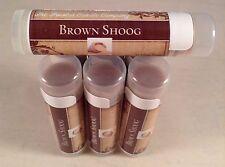 Lip Balm Brown Shoog Flavor Brown Sugar Brown Chapstick Tube Natural Vegetarian