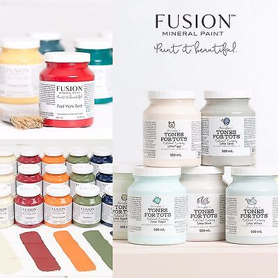 Fusion Mineral Paint - Pints - EXPEDITED SHIPPING!