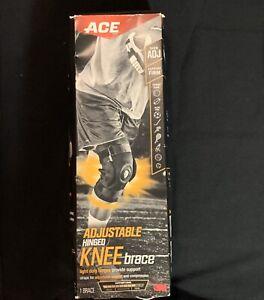 ACE-Brand-Adjustable-Hinged-Knee-Brace-Damaged-Box