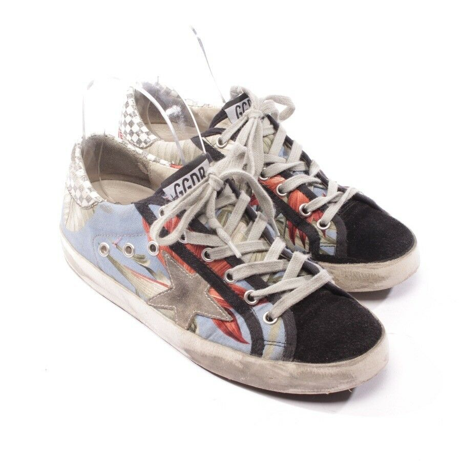 GOLDEN GOOSE Turnschuhe Gr. D 38 Multicolor Damen Schuhe Shoes Superstar