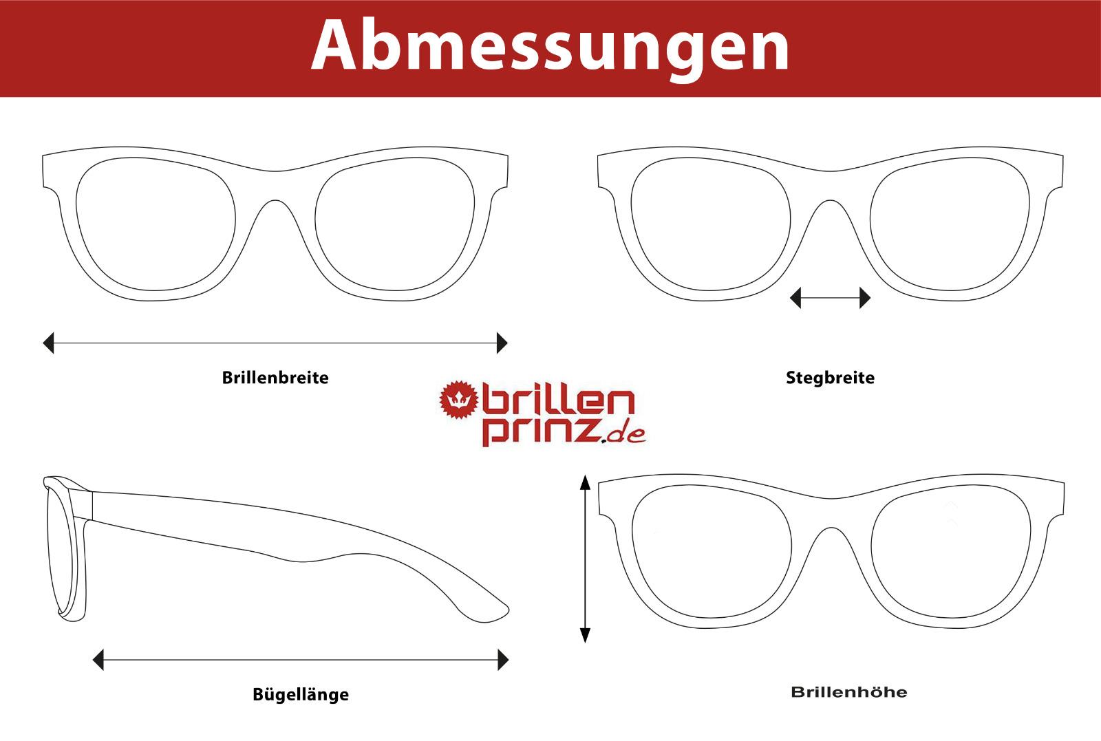 Prada Damen Herren Brillenfassung PR16MV ZXH-1O1 55mm havana braun BO14 8 B