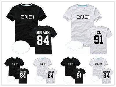 2NE1 SANDARA CL BOM PARK kpop t-shirt tee unisex New