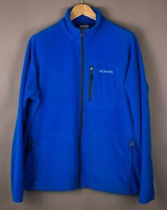 Columbia Herren Freizeit Reißverschluss Fleece Pullover Größe L ASZ1279