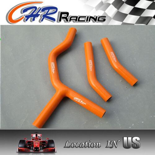 FOR KTM 125 200SX 200SX 2003 2004 2005 2006 Silicone Radiator Hose orange