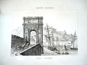 1836-ANCONA-VEDUTA-DALL-ARCO-DI-AUGUSTO