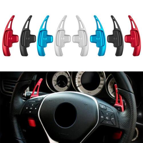 Steering Wheel Shift Paddle Shifter For Mercedes-Benz A B E R M GLK SLK Class
