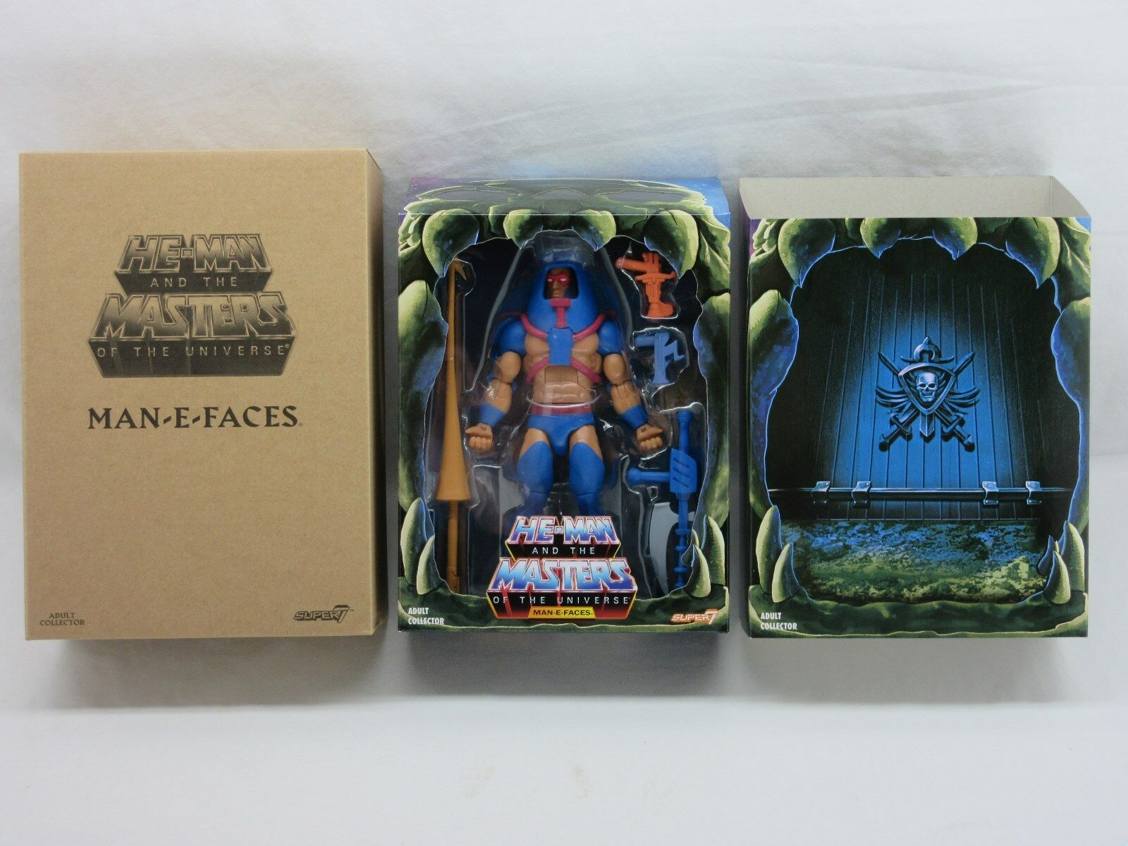 MOTUC,MOTU,FILMATION MAN-E-FACES 2.0,Masters Of The Universe Classics,MOC,He-Man
