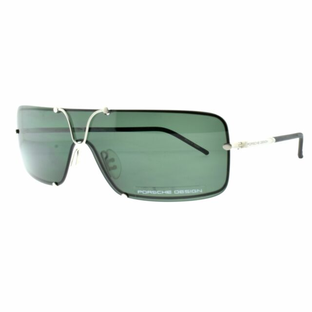 1f4fe736db6c Porsche Design 8441 B Silver Single Lens Full Rim Unisex 100% UV Sunglasses