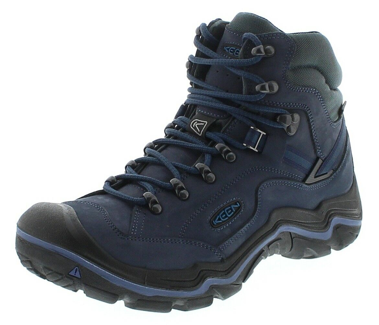Keen 1018000 Hikeport Mid WP schwarz Blau Jewel  Kinder Wanderstiefel Blau  Freize