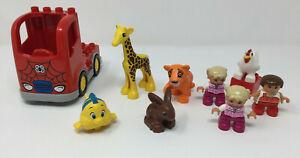 LEGO-DUPLO-SPIDER-MAN-TRUCK-PEOPLE-ANIMALS-BUNDLE