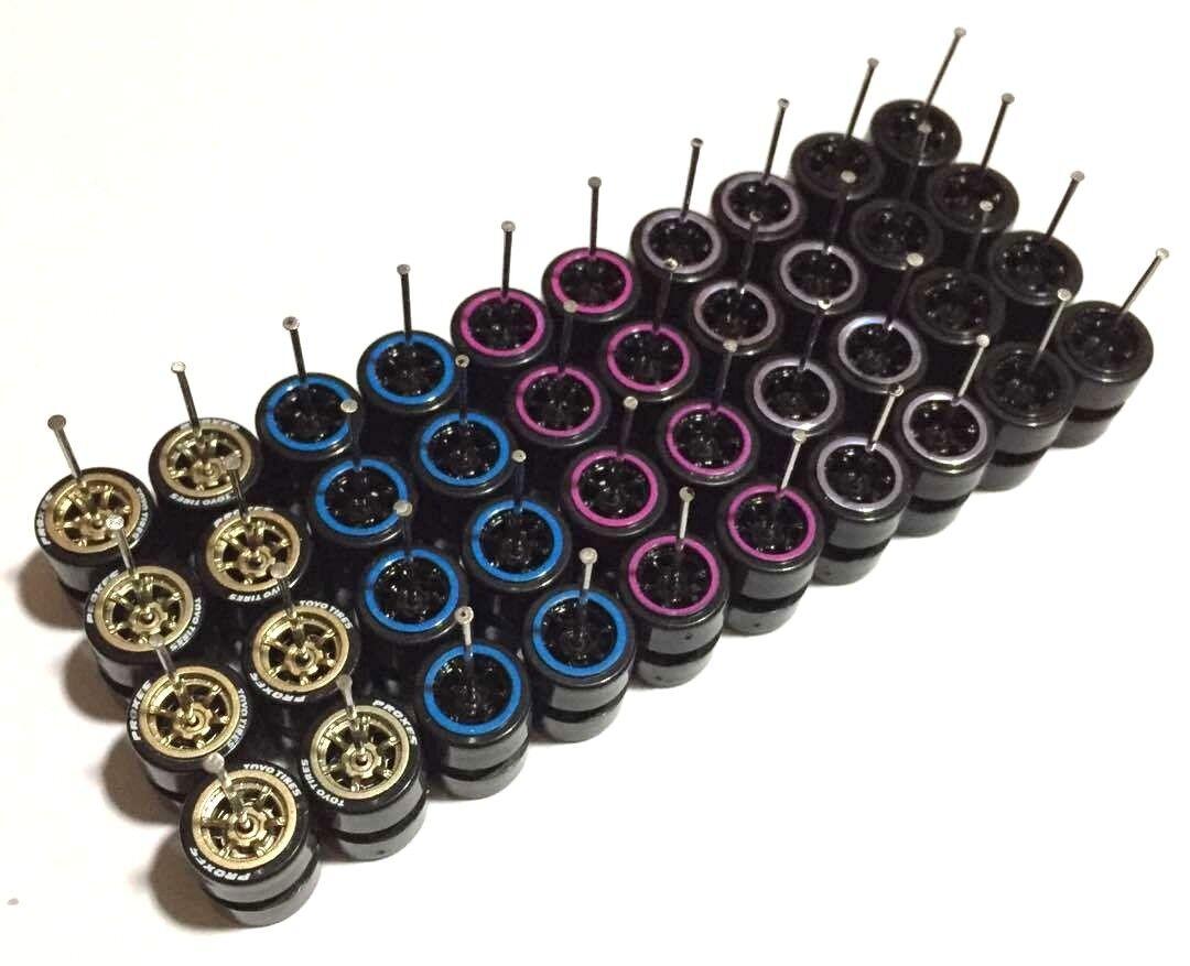 Con precio barato para obtener la mejor marca. 1 64 Borde de de de plástico Neumáticos comold Mix-Fit Hot Wheels MXB Diecast-Lote de 20 - 202  despacho de tienda