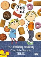 - Charlie & Lola: The Absolutely Completely Complete Season 3