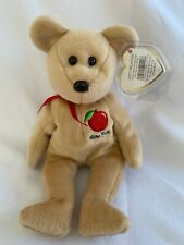 BIG APPLE the Bear TY Beanie Baby Show Exclusive - MWMTs 8.5 inch
