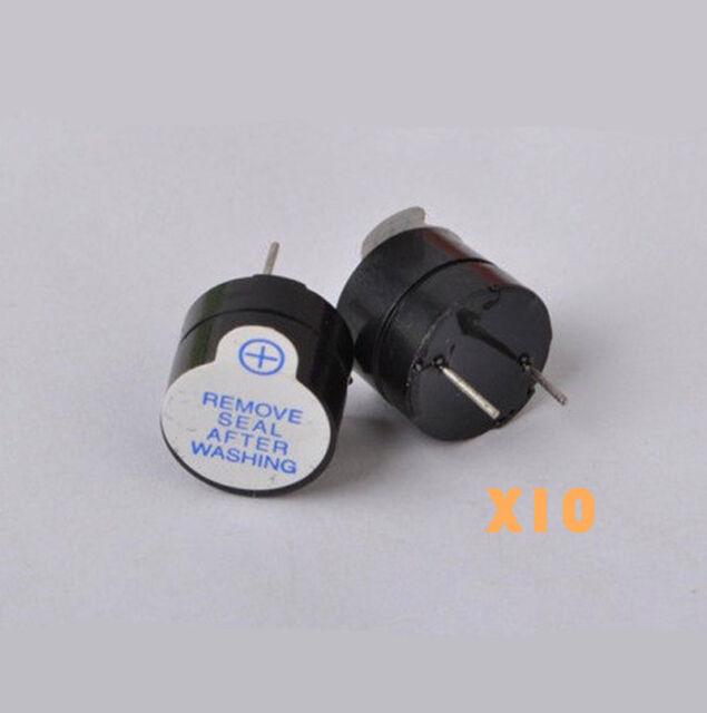 10pcs 5V Active Buzzer Long Continous Beep Tone Alarm Module