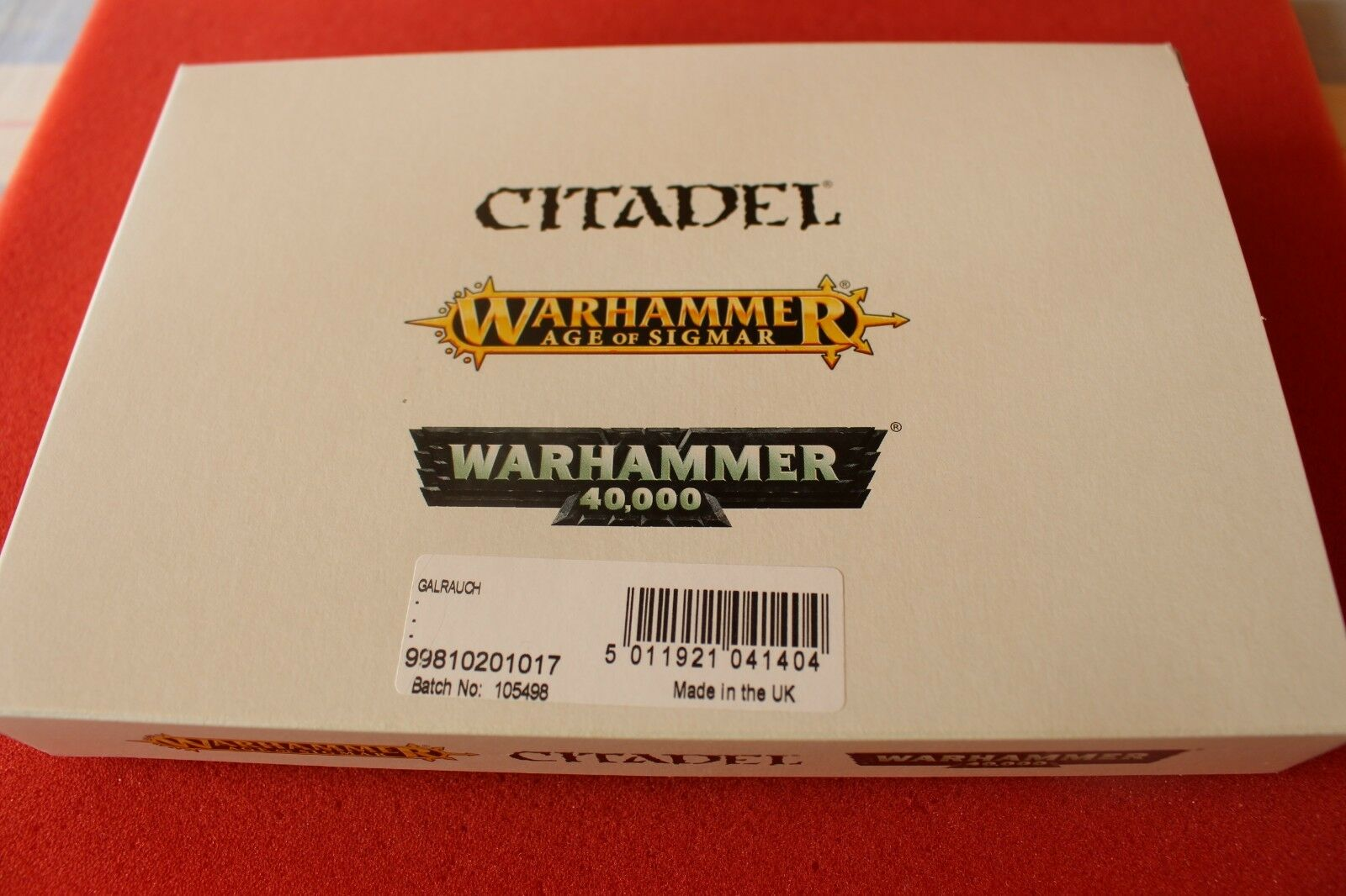 Games Workshop Warhammer Chaos Dragon galrauch New Neuf dans sa boîte GW Finecast Épuisé Résine GW