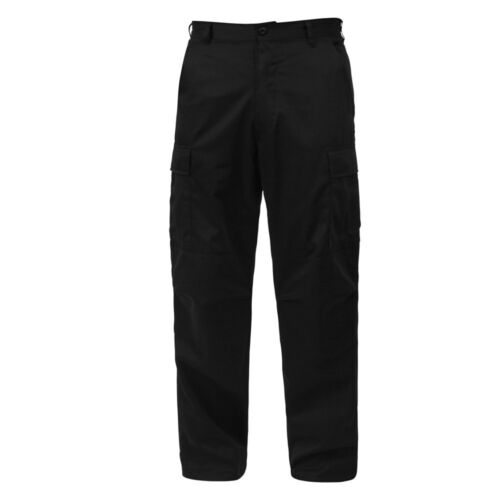 ZIPPER FLY Tactical Cargo Pants BDU Military Army Navy USMC Relaxed Fit EMT SWAT
