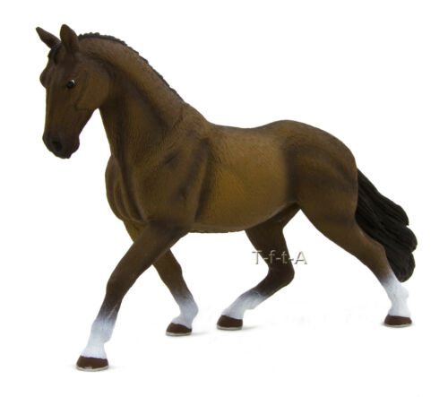 FREE SHIPPINGMojo Fun 387076 Bay Hanoverian Stallion Model New in Package