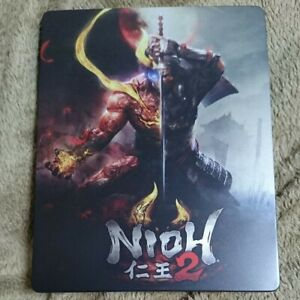 PS4-Nioh-2-GEO-Original-Steel-Case-ONLY-From-Japan