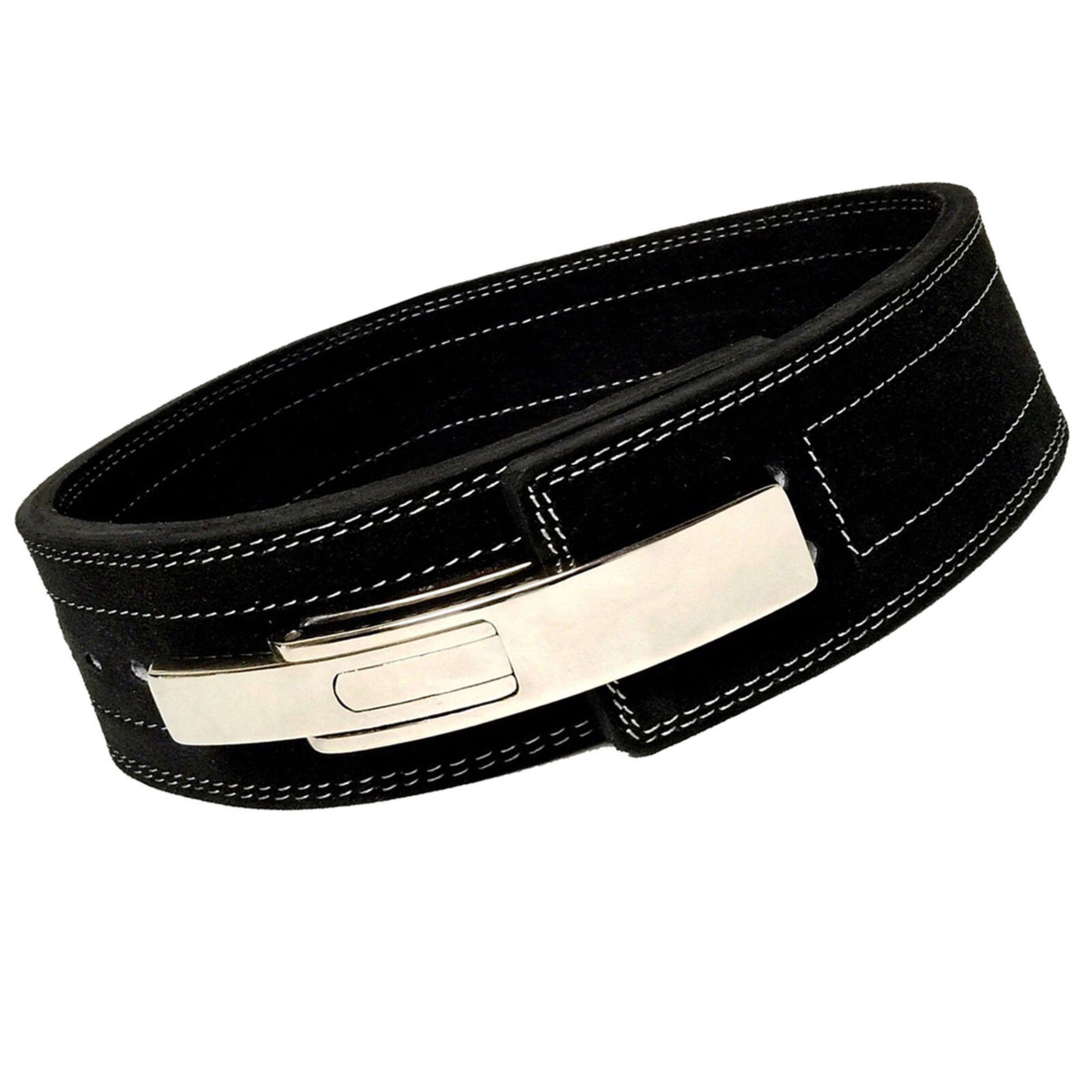 Weight Power Lifting Pelle Pro Lever Belt Gym Training Powerlifting Straps BLK