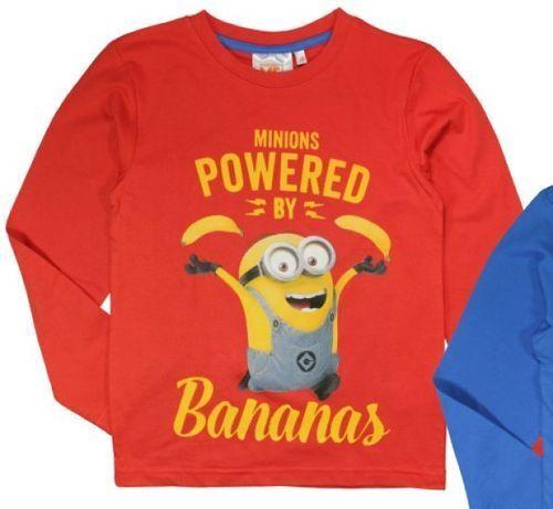 Shirt Langarm 100/% Baumwolle Minions Ich einfach unverbesserlich T-Shirt
