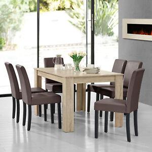 en-casa-MESA-de-comedor-A-LA-CAL-Roble-Con-6-sillas-marron-140x90-moderno