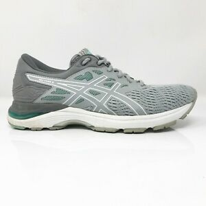 Asics-Womens-Gel-Flux-5-T861N-Grey-Running-Shoes-Lace-Up-Low-Top-Size-8-5