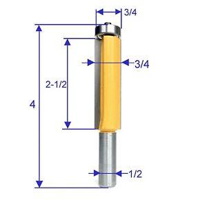 1pc-1-2-SH-2-1-2-034-Extra-Long-Flush-Trim-Top-Bearings-Router-Bit-S