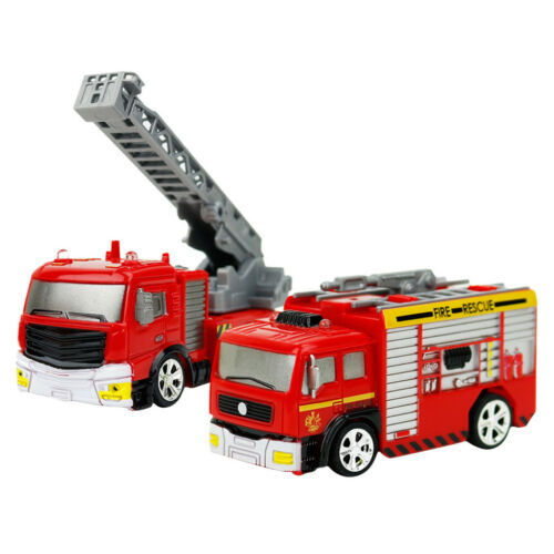 1:58 Mini RC Car Children/'s Gifts Fire Engine Truck Remote Control Car Toys