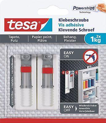 Papier, Büro- & Schreibwaren Ernst Tesa Powerstrips Klebeschraube Verstellbar 1 Kg 77775-00 2 Stück