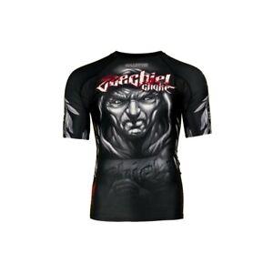 Short sleeve rashguard BJJ Extreme Hobby Training/&GYM MMA BBJ