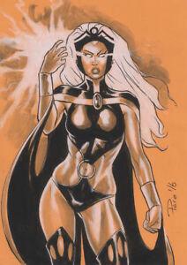 Storm-X-Men-Original-Art-Sketch-Pinup