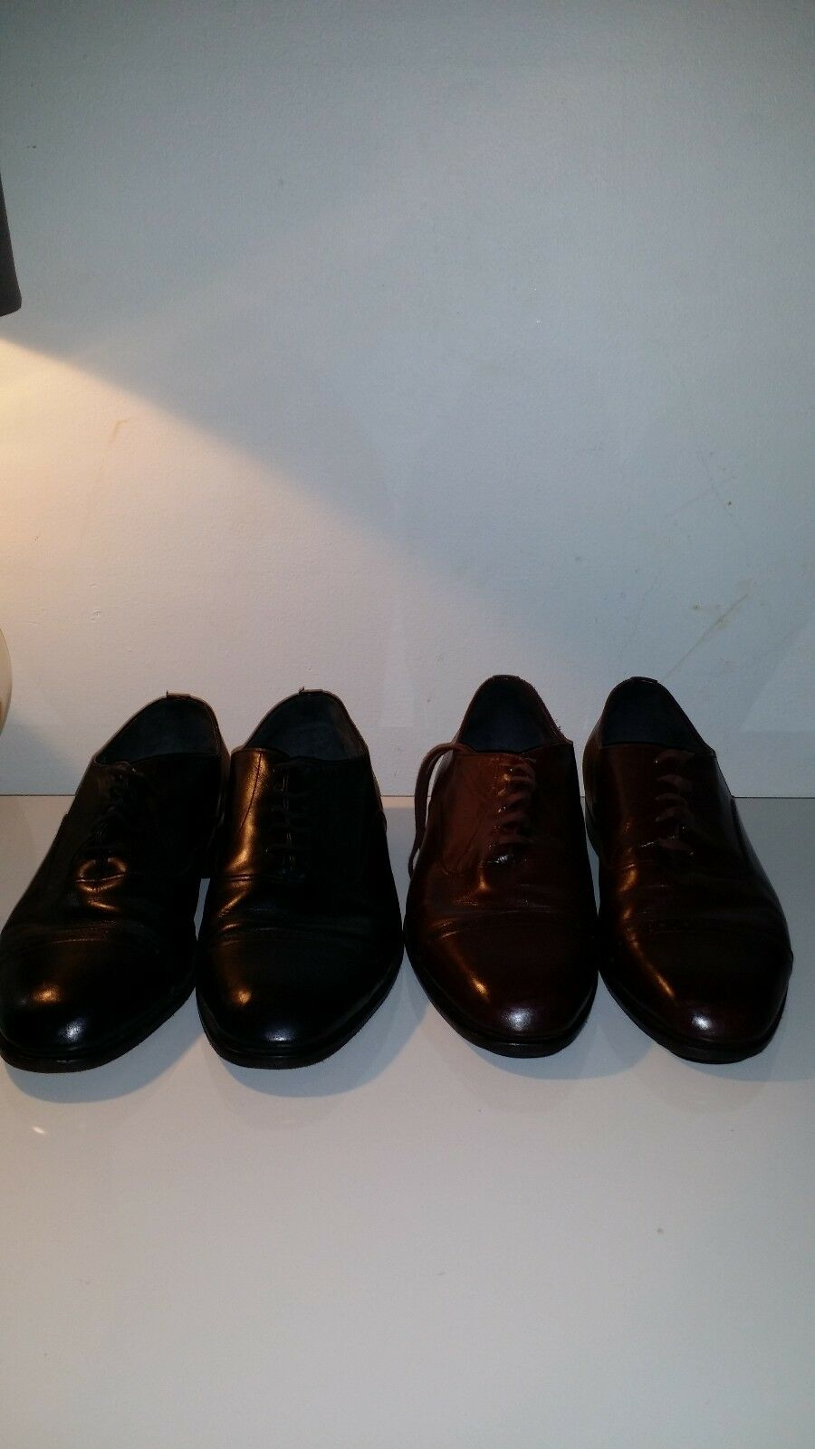 2 Paire FATHER & SON Hommes Chaussures Taille 8.50 Eee et 8.50 D