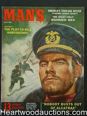 """Man's"" July 1959 Joan Bradshaw, Evan Hunter"
