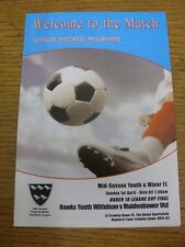 01/04/2012 Mid-Sussex Youth League U18 Cup Final: Hawks Youth Withdean v Maidenb
