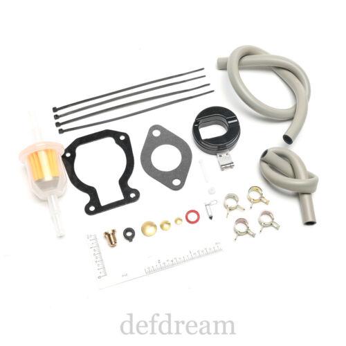 Carburetor Rebuild Repair Kit with Float 4-15 hp For Johnson Evinrude 398453