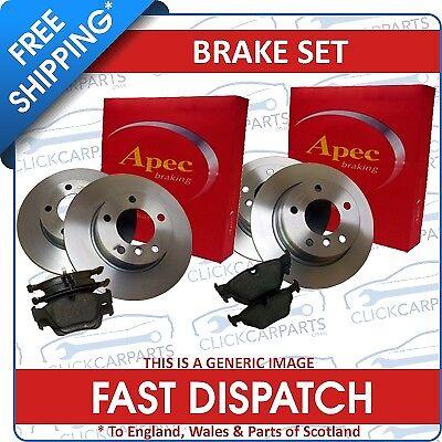 Citroen Saxo Vtr Vts Front /& Rear Brake Discs And Pads