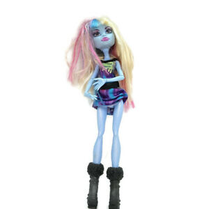 Mattel-Monster-High-Blue-Body-blonde-pink-purple-hair-fangs-Abbey-Bominable