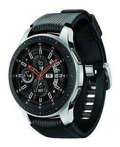 Samsung Galaxy Smartwatch 46mm Silver Stainless Steel SM-R805UZSAXAR -  Black