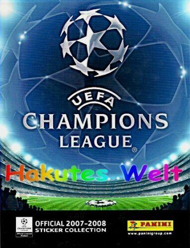 Panini 10//20//30 Sticker aussuchen Champions League 2007-2008 07 08 CL