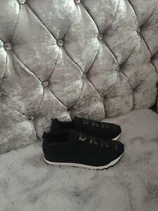 DKNY Jadyn Neoprene Trainers Size 6 UK