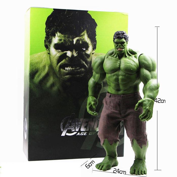Hulk Iron Man Hulk Buster Age Of Ultron Hulkbuster 42CM PVC Toys Action Figure