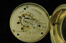 VINTAGE 18S WALTHAM GRADE 25 POCKET WATCH FROM 1888 SWING OUT DISPLAY BACK